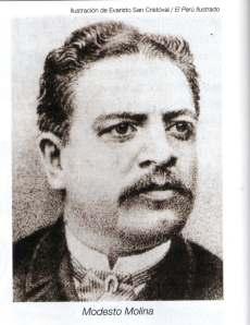 Modesto Molina, gran periodista.