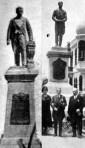 Leguía, sin verguenza, inauguró varios de sus monumentos.