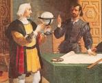 Colón ha probado que la Tierra es redonda.