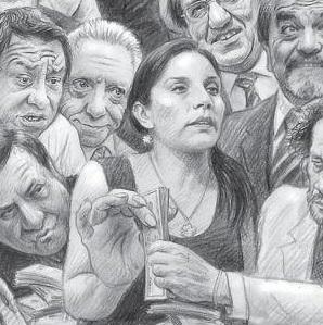 La doña de los  billetes ¿era Patricia Juárez?