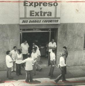 El viejo local de los diarios del jirón Ica.