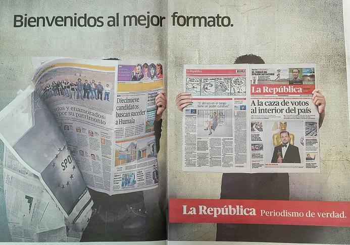 """Las páginas Dos y Tres de """"La República"""", del 14 de marzo"""