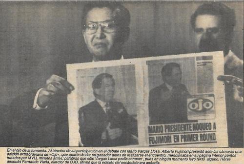 """Ilustración de """"Página Lbre"""" del lunes 4 de junio de 1990"""